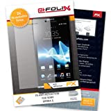 "atFoliX Displayschutzfolie f�r Sony Xperia S (2er Set) - FX-Antireflex: Displayschutz Folie antireflektierend! H�chste Qualit�t - Made in Germany!von ""Displayschutz@FoliX"""
