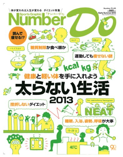 Sports Graphic Number Do Early Summer 2013 太らない生活2013 (Number PLUS)