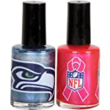 KE Specialties Seattle Seahawks Breast Cancer Nail Polish at Amazon.com