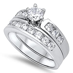 Novelty More Novelty Jewelry Wedding Engagement Rings Bridal Sets