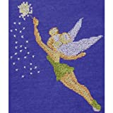 M C G Textiles 7.75 x 7-inch Disney Dreams Collection Tinker Bell Counted Cross Stitch Kit