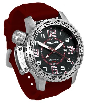 Millage Moscow Collection - BLK-RD-RD-SL