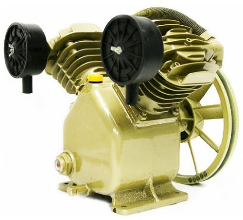 Best Deals! 11.2 CFM 120 PSI TWIN CYLINDER AIR COMPRESSOR PUMP