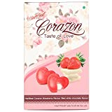 HartBeat Corazon Strawberry Flavour Filled With Chocolate Flavour Taste Of Love, 30g