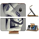 White Female Robot Humanoid Design HTC One M7 Flip Cover Case with Card Holder Customized Made to Order Support Ready Premium Deluxe Pu Leather 5 11/16 inch (145mm) x 2 15/16 inch (75mm) x 9/16 inch (14mm) MSD HTC One Professional Cases Accessories Open Camera Headphone Port Graphic Covers Designed 1 Model Folio Sleeve HD Template Designed Wallpaper Photo Jacket Wifi Luxury Protector Wireless Cellphone Cell Phone