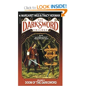 Doom of the Darksword (The Darksword Trilogy, Vol. 2) by Margaret Weis and Tracy Hickman