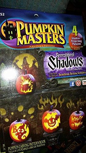"""Halloween Pumpkin Masters """"Sensational Shadows"""" Pattern Book"""