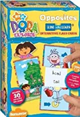 Dora the Explorer Flash Cards: Opposites