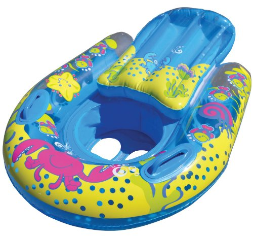 Swimschool grow with me 4 in 1 swim system home garden for Pool floats design raises questions