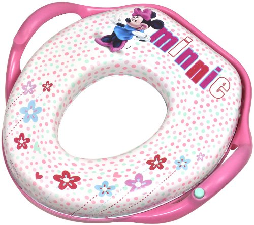 The First Years Magical Sounds Soft Potty Seat, Minnie Mouse