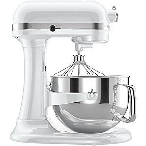 KitchenAid KP26M1XMR Professional 600 Series 6-Quart Bowl-Lift Stand Mixer, Meringue