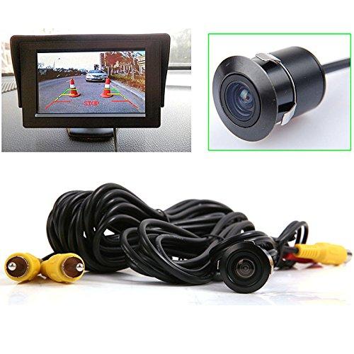 Waterproof Car Rear View Reverse Backup Color Camera Black