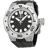 Invicta Pro Diver Black Dial Black Rubber Mens Watch 16132