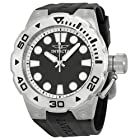 Invicta Pro Diver Black Dial Black Rubber Mens Watch 16132