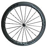 FASTEAM 超軽量 50ミリメートル深さ23ミリメートル幅 自転車の車輪 公路自行车 クリンチャーホイールセット (Front Wheel)