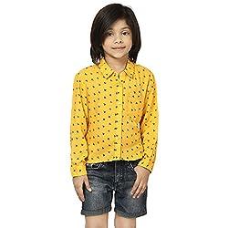 MIWAY Baby Girl Viscose Shirt(MWK-9_11-12-Y)