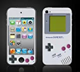 i-Pod Touch 4th Gen Vinyl Skin Cover-Gameboy design skin. looks like old school gameboy