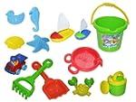 Bana Toys Beach Set Bucket with Acces...