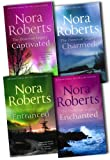 Nora Roberts The Donovan Legacy 4 Books Collection Pack Set RRP: £27.96 (Enchanted, Entranced , Captivated, Charmed) Nora Roberts