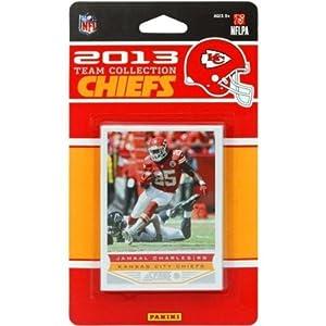 Kansas City Chiefs 2013 Score NFL Football Factory Sealed 11 Card Team Set by Kansas City Chiefs Team Set