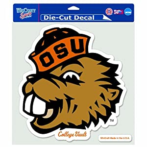 Buy NCAA College Vault Oregon State Beavers 8-by-8 Inch Die Cut Colored Decal by WinCraft