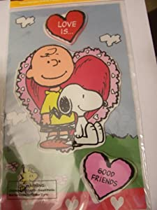 Peanuts Gel Cling Window Cling Love Is Good Friends by Product Works