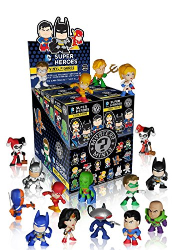 DC Justice League Mystery Minis Toy Action Figures (2 random mystery mini packs) - 1