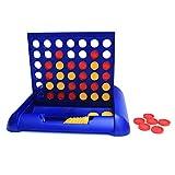 Wishtime 楽しい立体四目並べ 対面4目並べ トラベルゲーム 旅行に最適なボードゲーム 卓上ゲーム おもちゃ アナログゲーム