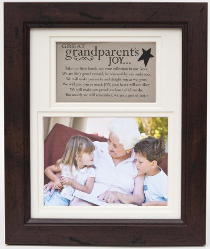 The Grandparent Gift Frame Wall Decor, Great-Grandparent'S Joy