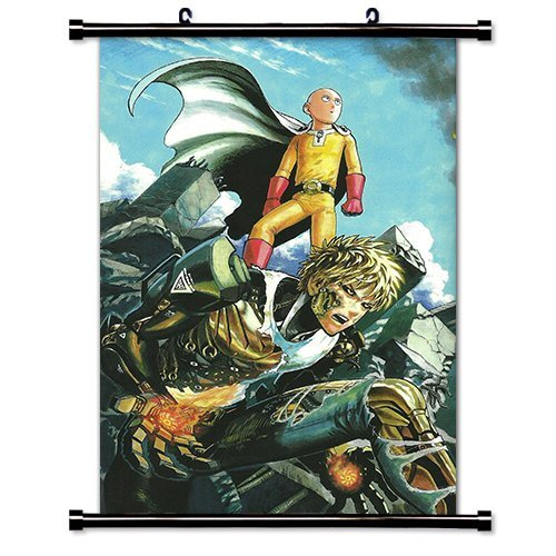 One Punch Man Anime Fabric Wall Scroll Poster (32 x 52) Inches