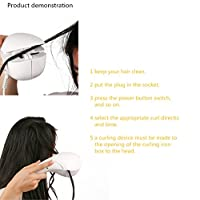 New Arrival Mini Automatic Hair curler Hair Styling Tools Roller Hair Curl Curling Machine LCD by zsl