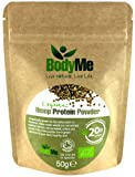 BodyMe Organic Hemp Protein Powder 50 g Soil Association Certified