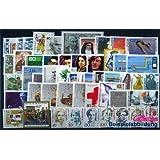 sellos para coleccionistas: RFA (RFA.Alemania) 1988 con 1347 C y D matasellado completo año en limpio conservación...