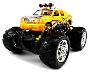 Velocity Toys Graffiti Cadillac Escalade EXT Electric RC Truck 1:16 Monster RTR (Colors May Vary) at Sears.com