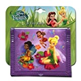 Tinkerbell Non- Woven Bifold Wallet on Card W/Full Matte printing on Front & Back