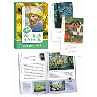 Van Gogh & Friends, Go Fish for Art cards and book by Birdcage Press