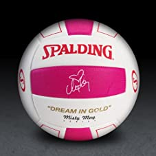 Misty May Signature Series Volleyball - Pink