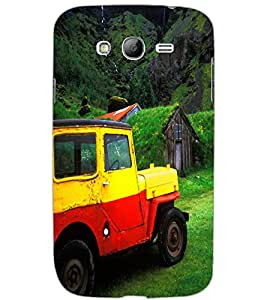 SAMSUNG GALAXY GRAND CAR Back Cover by PRINTSWAG