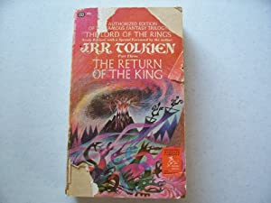 Return of the King.., Being the 3rd Part of the Lord of the Rings. Part Three III by J.R.R....Author Foreword Tolkien and Volcano Cover Red Dragons