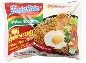 Indomie Mi Goreng Instant Noodle 3 oz - (Pack of 30)