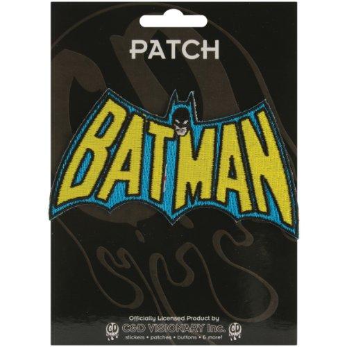 Application Batman Cape Logo Patch