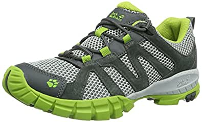 Jack Wolfskin  VOLCANO LOW MEN, Chaussures de randonnée homme - Multicolore - Mehrfarbig (parrot green), 47.5 EU