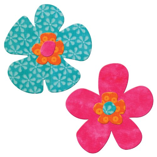 Accuquilt Go! Fabric Cutting Dies; Funky Flower front-200298
