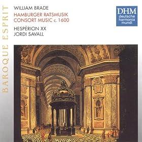 Newe ausserlesene Paduanen und Galliarden auff allen musicalischen Instrumenten und insonderheit auff Fiolen lieblich zu gebrauchen (mit 6 Stimmen) Hamburg 1614: Galliard (IX)