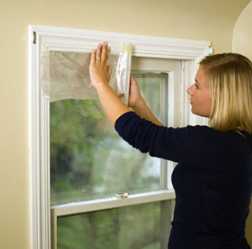 Duck Brand 281506 Indoor 10 Window Shrink Film Insulator