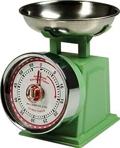 Fox Run Classic Scale Kitchen Timer, Mint Green