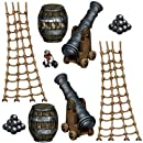 Pirate Ship Props Party Accessory (1 count) (9/Pkg)