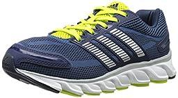 adidas Performance Powerblaze Running Shoe (Little Kid/Big Kid), Vista Blue/Silver/Navy, 12 M US Little Kid