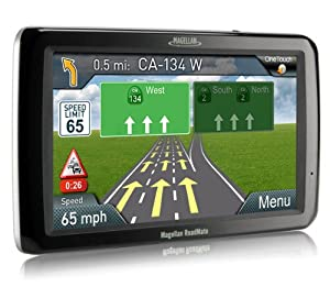Magellan RoadMate 9250T-LMB 7-Inch Widescreen Portable GPS Navigator with Lifetime... by Magellan
