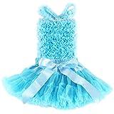 Wennikids - Conjunto - para niña Azul azul claro